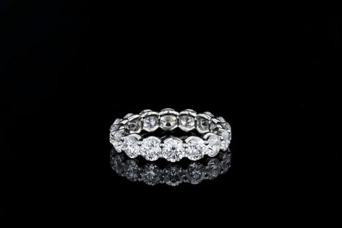 U Set Diamond Eternity Band